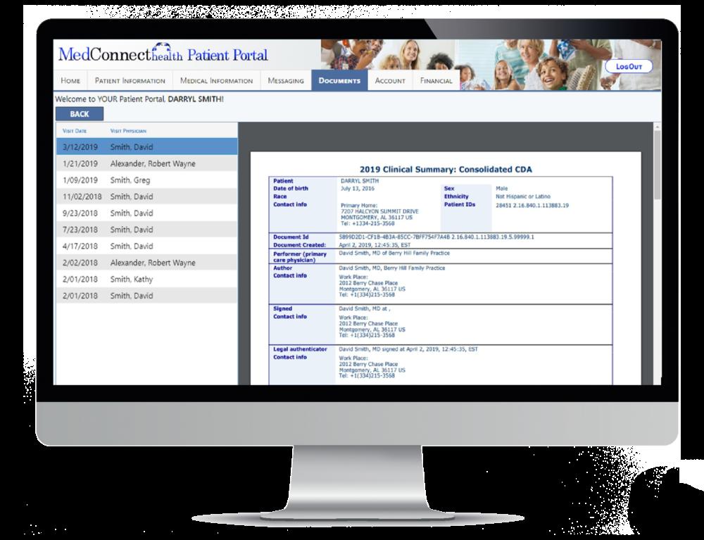 Patient Portal - MedConnect Health